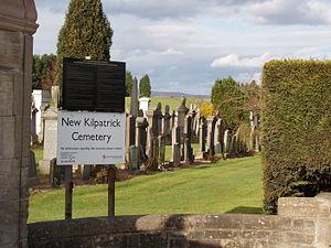 New Kilpatrick - New Kilpatrick Cemetery, Bearsden
