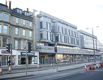New Club, Edinburgh - The New Club building on Princes Street