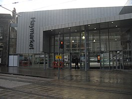 New entrance to Haymarket station, Edinburgh.jpg