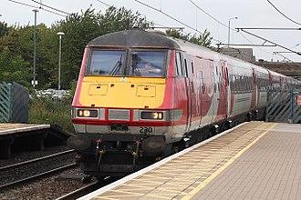 Newark North Gate railway station - Virgin Trains East Coast service to London