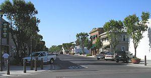 """Newman, California - """"Main Street"""" in Newman"""