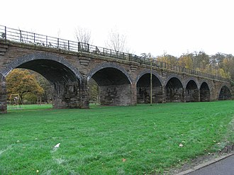 Darvel Branch - Image: Newmilns viaduct