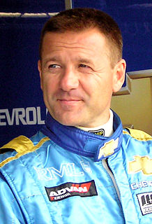 Nicola Larini Italian racecar driver