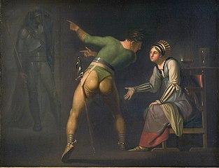 Hamlet hos sin moder