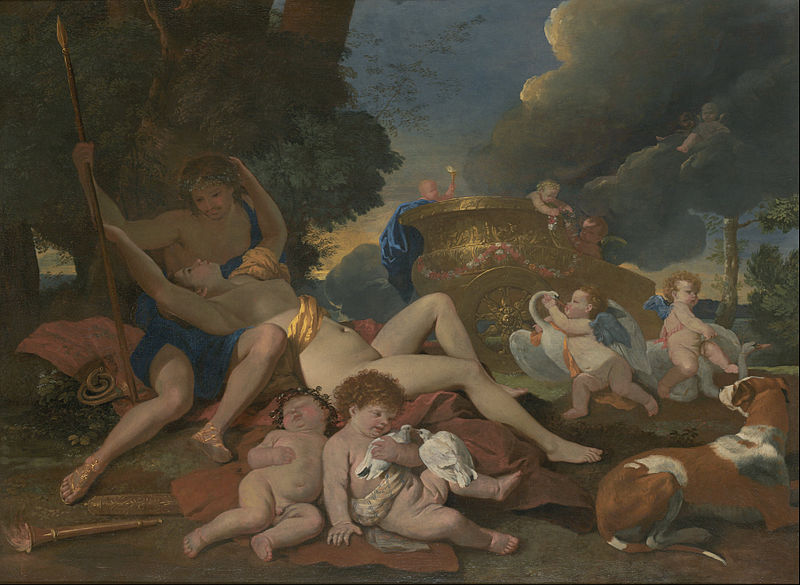 File:Nicolas Poussin - Venus and Adonis - Google Art Project.jpg