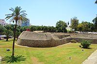 Nicosia city Venitian historic ancient walls and gardens Republic of Cyprus.jpg