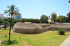 Nicosia city Venitian historic ancient walls and gardens Republic of Cyprus.jpg