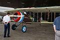 Nieuport 27 LFront Restoration NMUSAF 25Sep09 (14598440074).jpg