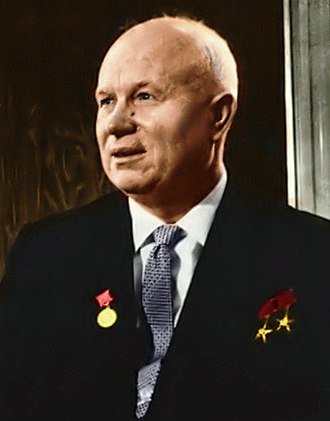 22nd Presidium of the Communist Party of the Soviet Union - Khrushchev chaired the Presidium from 1955 to 1964.
