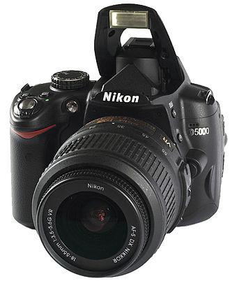 Nikon D5000 - Nikon D5000 with 18-55 VR kit lens