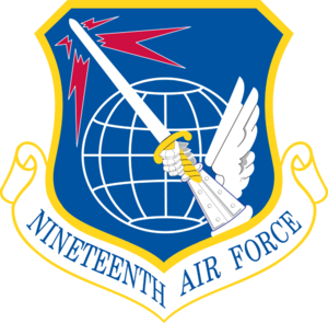 Nineteenth Air Force - Image: Nineteenth Air Force Emblem