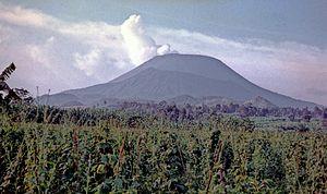Mount Nyiragongo - Nirogongo, 1975