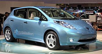 Nissan Leaf at Tokyo Motor Show (RHD).