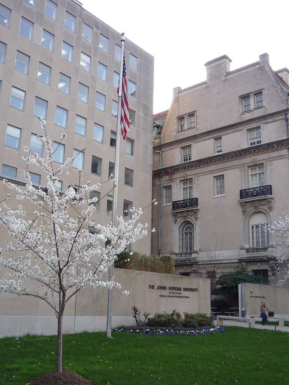 Nitze Building at The Johns Hopkins University Paul H. Nitze School of Advanced International Studies Washington, DC