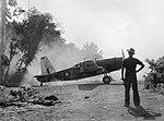 No 24 Squadron Vengeance dive bomber at Tsili Tsili in November 1943.JPG