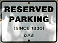 No Parking St Toms since 1830.JPG