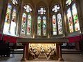 Nogent-le-Rotrou église Saint-Hilaire autel vitraux choeur Eure-et-Loir (France).jpg