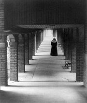 Nun in cloister, 1930; photography by Doris Ulmann