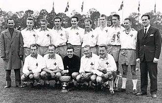 1960 Allsvenskan - IFK Norrköping's victorious team.