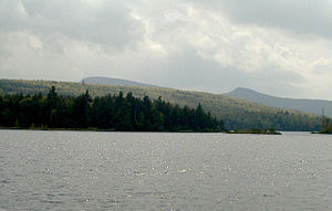 Catskill Park - North-South Lake in the Catskill Forest Preserve
