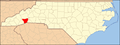 North Carolina Map Highlighting Henderson County.PNG
