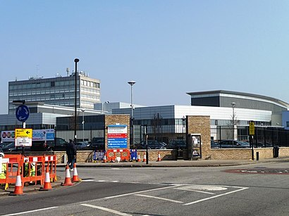 silver street station to north middlesex hospital