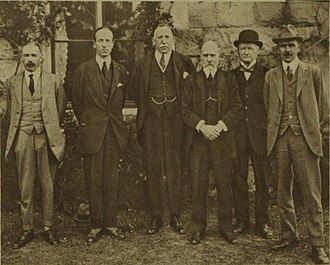 James Craig, 1st Viscount Craigavon - Craig (third from left) with his first cabinet, in 1921