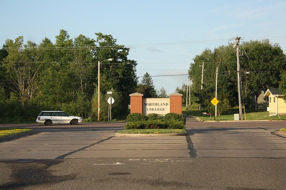 Northland College Ashland Wisconsin Entrance