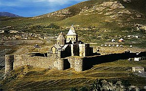 Thaddeus monastery, Northwestern view