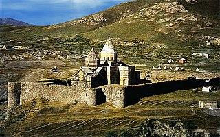 Monastery of Saint Thaddeus former Armenian monastery in Iran