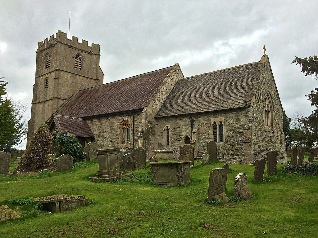 St Mary's parish church, Prior's Norton, Gloucestershire