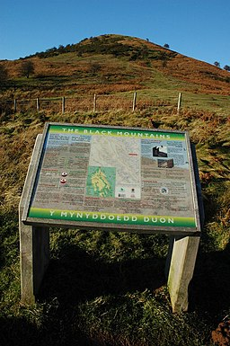 Notice board at the Black Hill car park - geograph.org.uk - 1072930