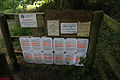Notices at Thompson water - geograph.org.uk - 1019844.jpg