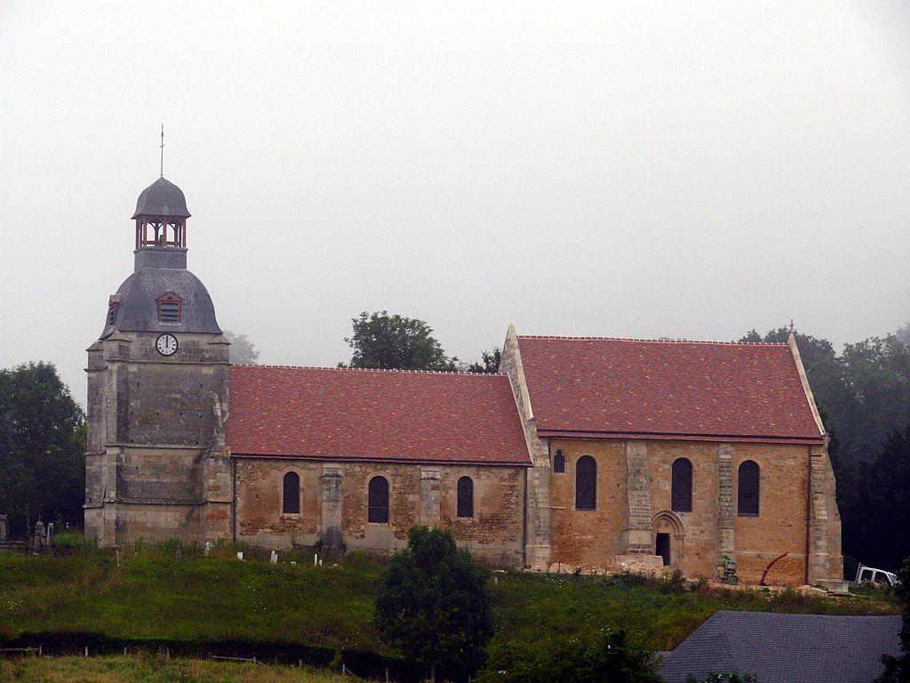 L'église Notre-Dame à Notre-Dame-d'Estrées.