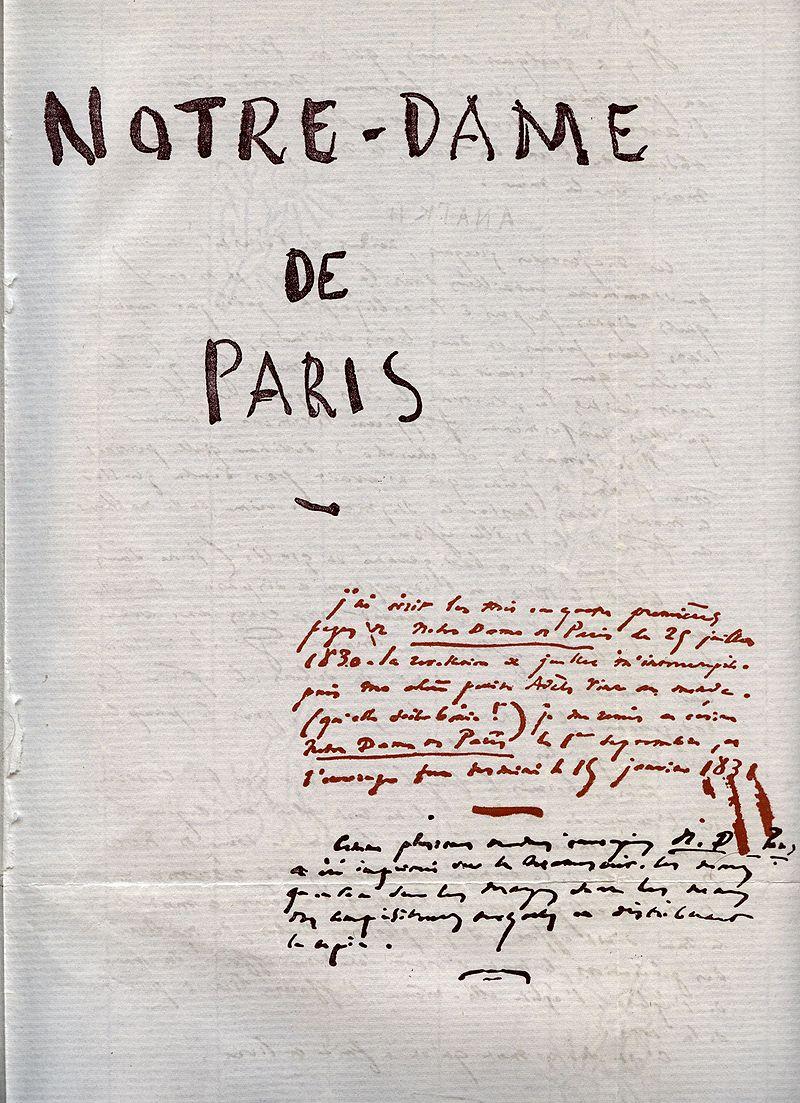 Image illustrative de l'article Notre-Dame de Paris (roman)