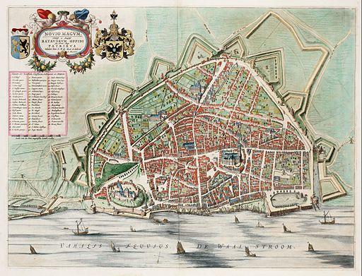 Novio Magum - Nijmegen (J.Blaeu, 1649)