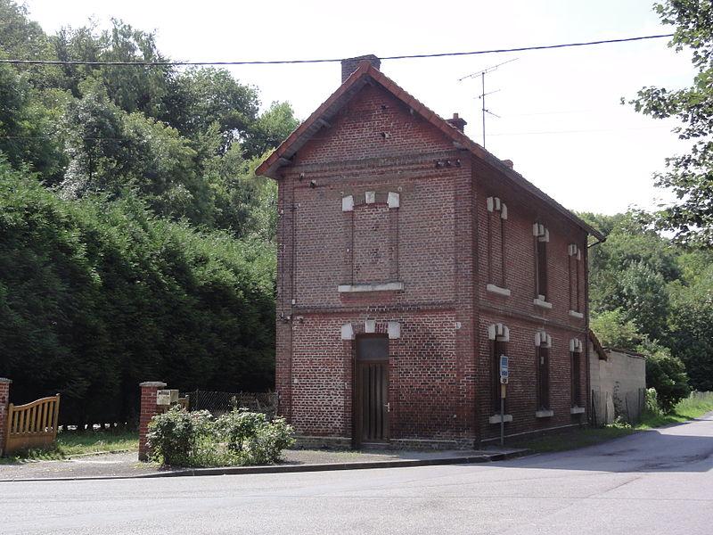 Noyales (Aisne) ancienne gare