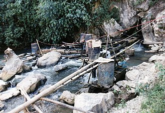 Hydroelectricity - A micro-hydro facility in Vietnam