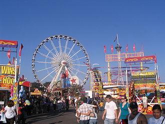 Orange County Fair (California) - OC Fair midway, 2008.