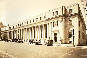 United States Post Office and Courthouse (Tulsa, Oklahoma) - The building as it appeared in 1934.