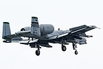 OS183 A-10C on final for R-W05R(3). (8878646349).jpg