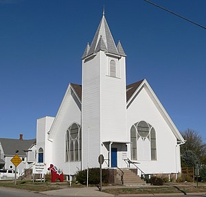 Oakland, Nebraska - Image: Oakland, Nebraska Swedish Heritage Center