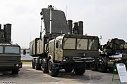 S-400's 92N2 radar and 5P85T2.