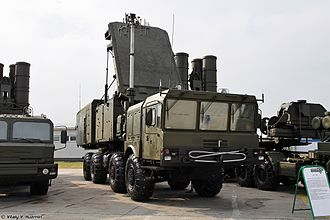 S-400 missile system - S-400 92N2 radar and 5P85T2
