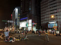 Occupy Zhongxiao West Road MiNe-IP5S 20140427-221309RG (14801504729).jpg