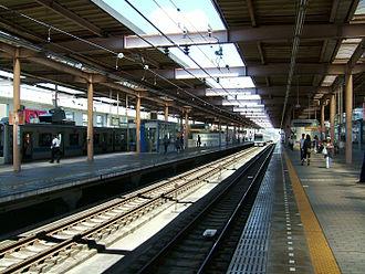 Yamato Station (Kanagawa) - The Odakyu Line platform