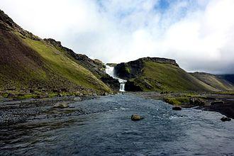 Vatnajökull National Park - Ófærufoss in Eldgjá
