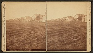 Fort Custer (Montana) - Officer's quarters, Fort Custer