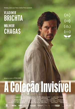 """Vladimir Brichta - Image: Official Poster """"A Coleção Invisível"""""""