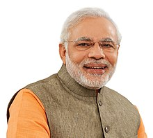 Official portrait of prime minister of India, Narendra Modi.jpg